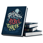 Goodnight Stories for Rebel Girls book cover